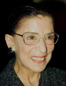 In Praise of Justice Ruth Bader Ginsburg